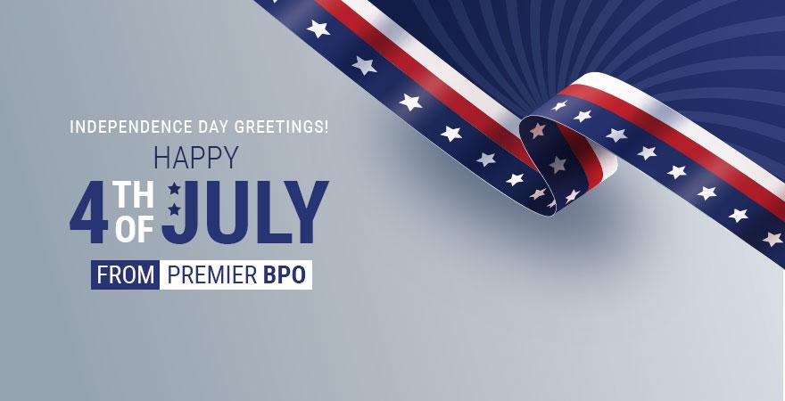 Premier BPO sends U.S. Independence Day greetings to Everyone
